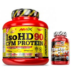 Proteína Pro Iso HD CFM Protein 90 1800 gr + Thermocore 30 caps
