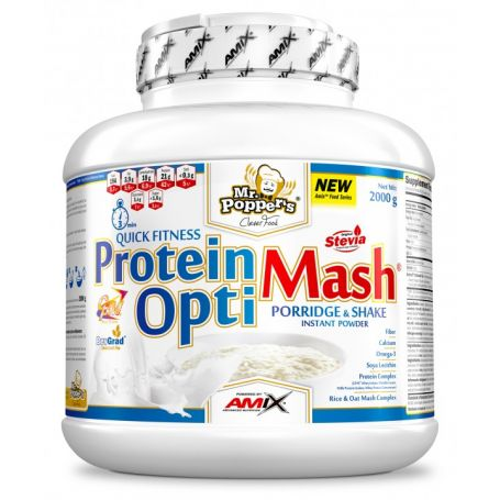 Proteína Protein OptiMash Mr Poppers 2 kg