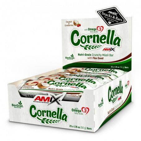 Barritas Cornella Crunchy Muesli Bar 25 barritas x 50 gr