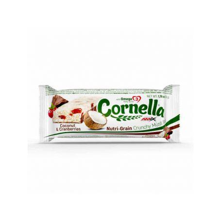 Barritas Cornella Crunchy Muesli Bar 1 barrita x 50 gr