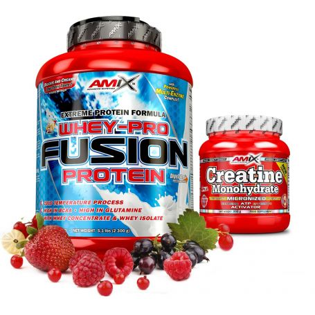 Whey Pure Fusion Protein 2,3kg + Creatina 300 gr GRATIS