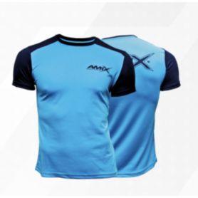 Camiseta Runfit Amix Limit Azul-Negra