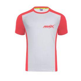 Camiseta Runfit Score gris - naranja