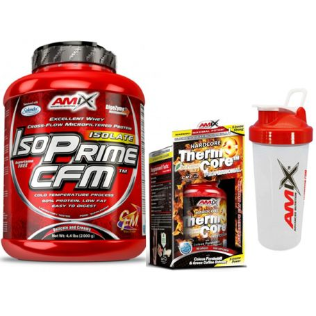 Pack IsoPrime CFM 2kg + Thermocore Amix Nutrition