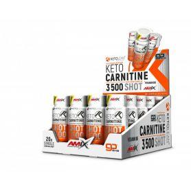 KetoLean Keto Carnitine Shot 3500 20 x 60 ml