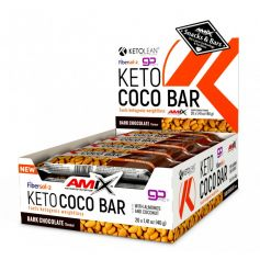 KetoLean Keto Coco Bar 20 x 40 gr