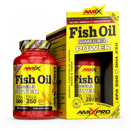 Fish Oil Omega 3 Power 60 caps