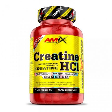 Creatine HCl 120 caps Amix Pro