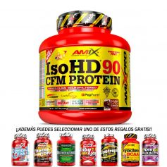 Proteína Pro Iso HD CFM Protein 90 1800gr + Regalo 30 caps