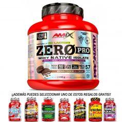 Proteina ZeroPro Protein 2kg Amix + Regalo 30 caps