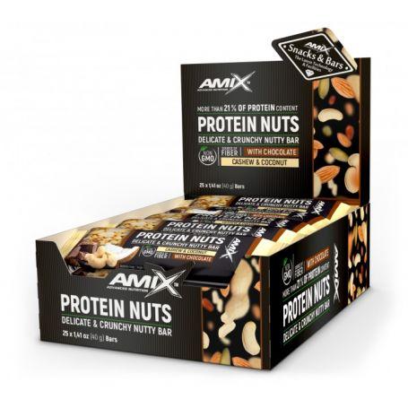 Barrita Protein Nuts Bar 25 x 40 gr