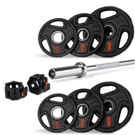 Set Super Pump Barra y discos AFW 26 Kg