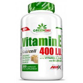 Vitamina E 400 I.U. LIFE+ 200 caps Amix GreenDay