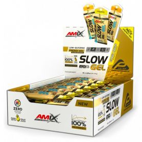 Slow Palatinose 40 geles energético de 45 g Amix Performance