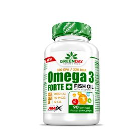GreenDay® Omega3 FORTE + 90 caps