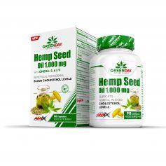 GreenDay HEMP 1000mg Seed Oil 90cps