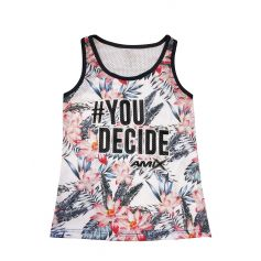 Camiseta Mujer You Decide Basket Rosas