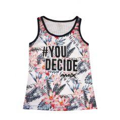 Camiseta Mujer You Decide Basket Rosas