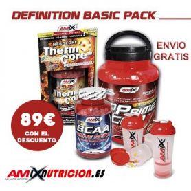 Pack definición muscular