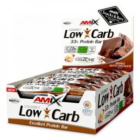 Barritas de Proteína Amix Low Carb 33%