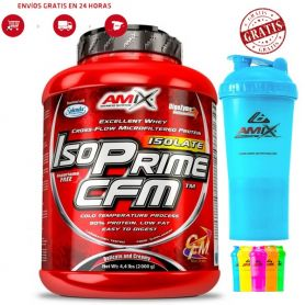 Pack Amix IsoPrime CFM Isolate 2kg + Monster Shaker