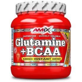 Glutamina + Bcaa´s Aminoacidos Ramificados 300gr