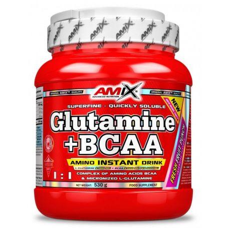 Glutamine + Bcaa´s 530 gr