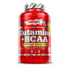 Glutamina + Bcaa´s 360 capsulas
