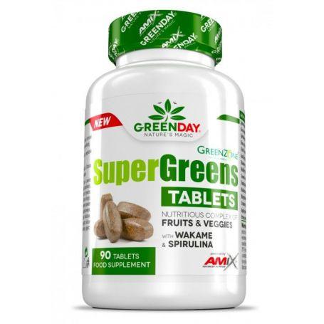 Super Greens tablets Amix Greenday 90tabs