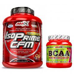 Pack Amix IsoPrime CFM 2 kg + BCAA Micro Instant Juice 300 gr