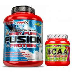Pack Proteína Whey Pure Fusion 2,3kg + BCAA Micro Instant Juice 300 gr