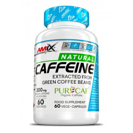 Natural Caffeine 60 caps Amix Performance