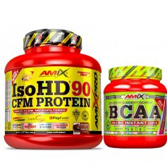 Iso HD CFM Protein 90 1800 gr + BCAA Micro Instant Juice 300 gr