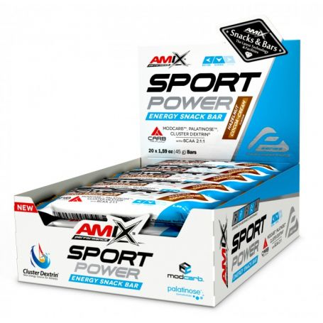 Barritas Sport Power Energy Snack Bar 20 x 45 gr