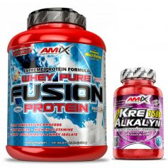 Whey Pure Fusion Protein 2,3kg + kre-alkalyn 30 caps