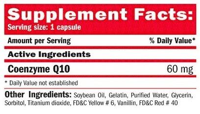 Ficha Técnica Coenzyme Q10